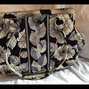 Vera Bradley Camellia Handbag Tote Purse Pretty